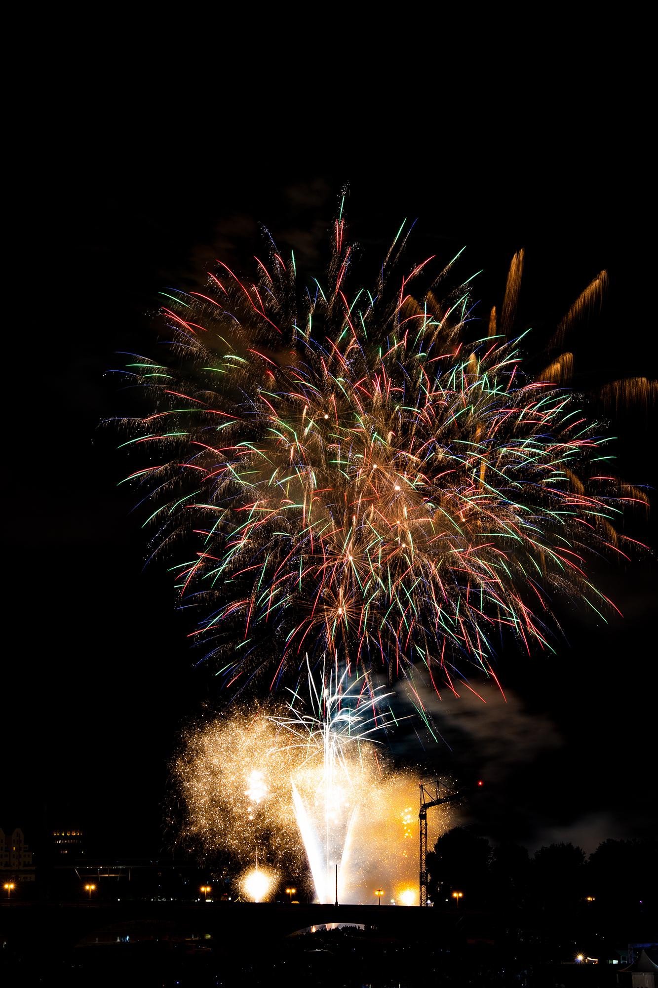 Feuerwerk Stadtfest 2